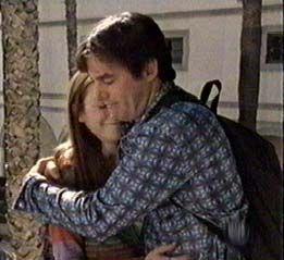 Willow and Xander hug